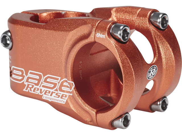Reverse Base Stem Ø 31,8 mm, orange